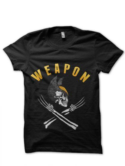 weapon black tshit