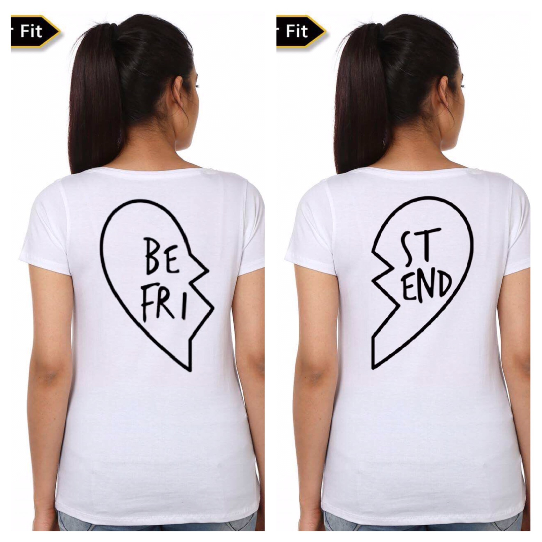 30f040ef6 Best Friends Couple T-Shirt   Swag Shirts