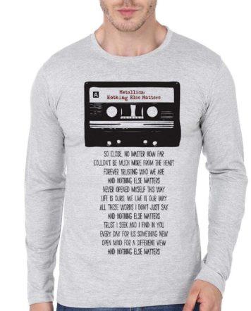 44978c990 More Than Avenger Fan Black Full Sleeve T-Shirt | Swag Shirts