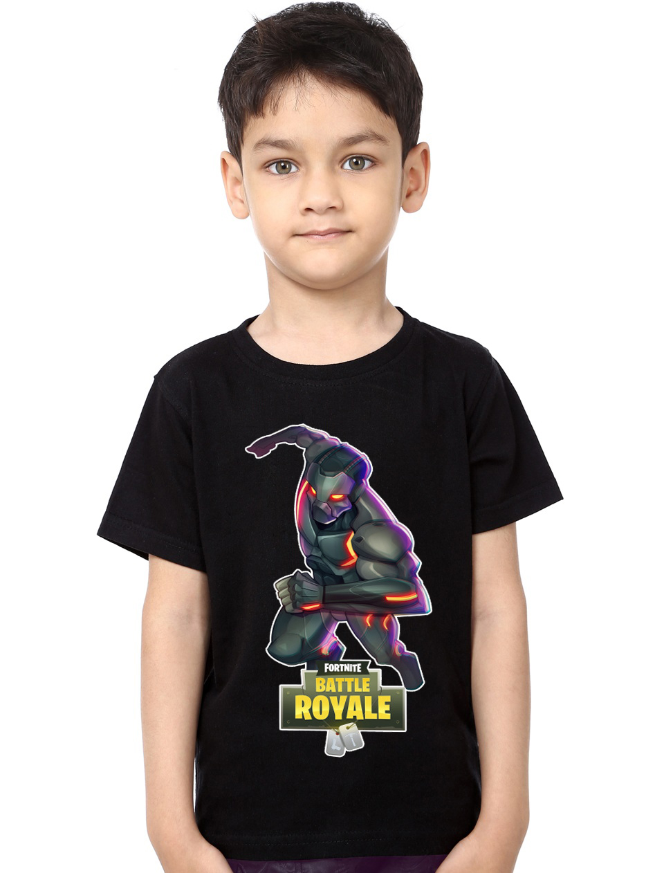 41f8bf7ba Omega Fortnite Black Kids T-Shirt | Swag Shirts