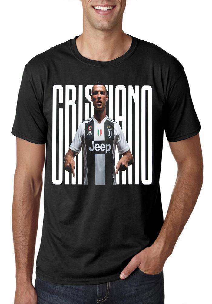 quality design fdac9 10e06 CR7 Juventus FC Black T-Shirt