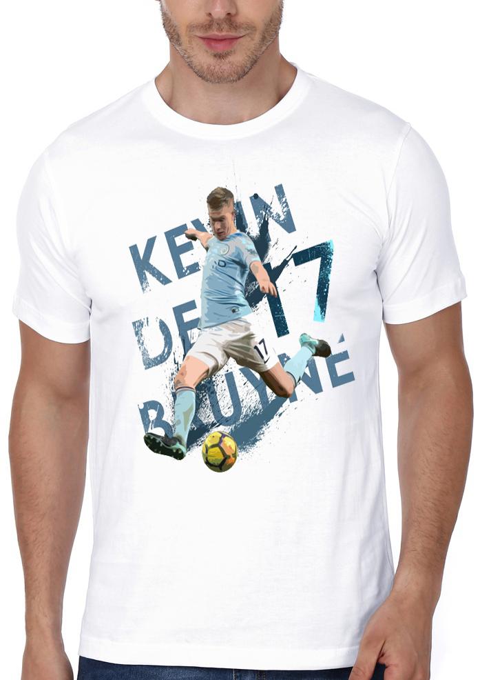 low priced 8932f 7190e Kevin De Bruyne White T-Shirt