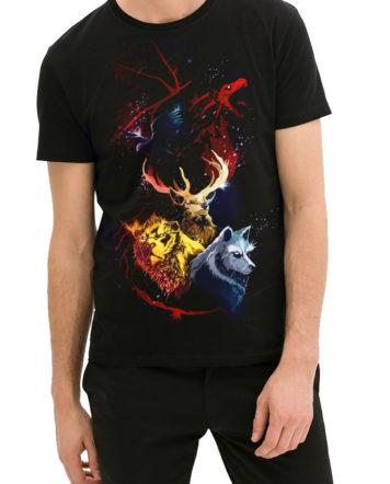 game of thrones black tshirt