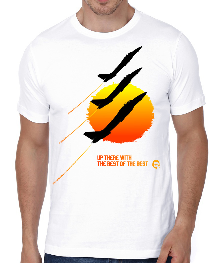adf31f8fd5 Top Gun Sunset White T-Shirt
