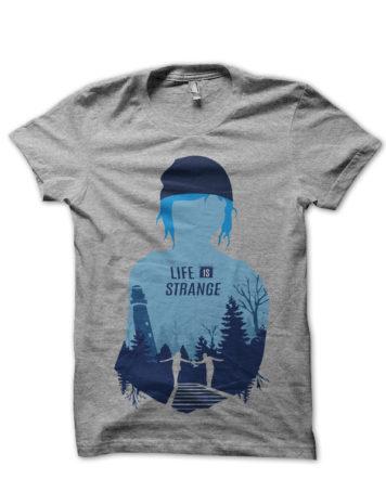 life is strange grey tshirt