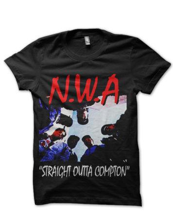nwa black tshirt