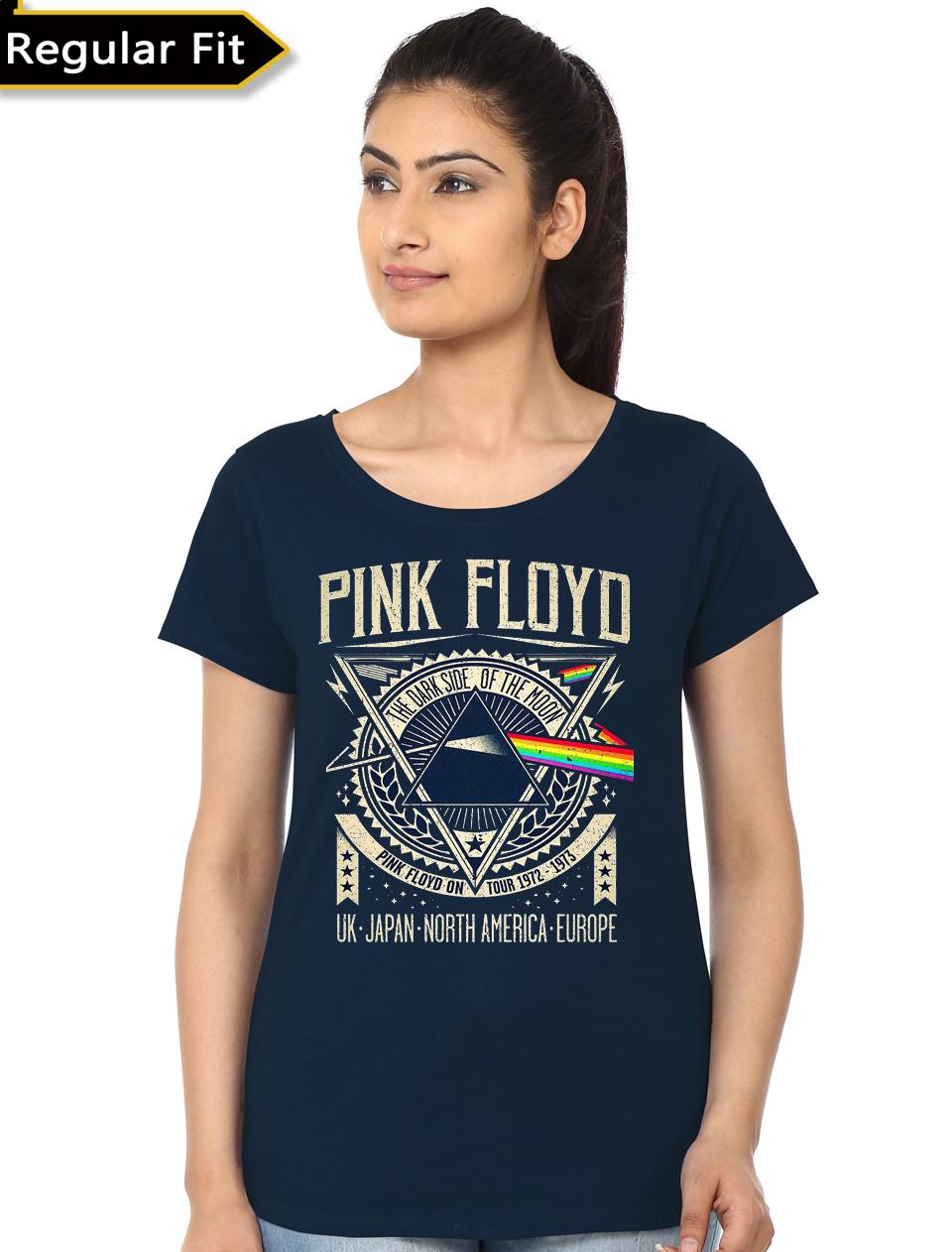 17d8c3e8 Friends Girls Navy Blue T-Shirt   Swag Shirts