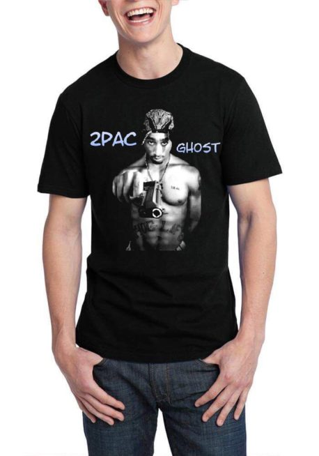 Tupac Shakur Black T-Shirt