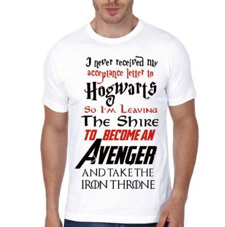 i never got my acceptance letter tshirt