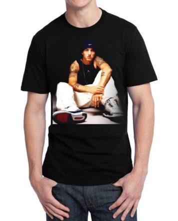 eminem black tshirt
