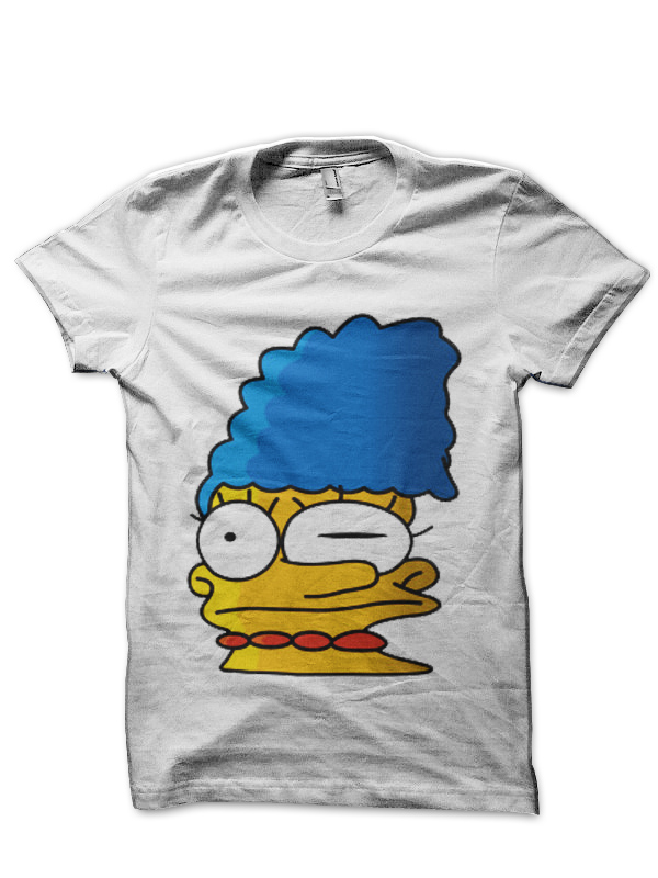 I Got 2 Off Because Mine Got Smeared The Simpsons T Shirt Swag