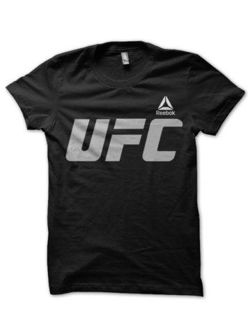 ufc black tshirt