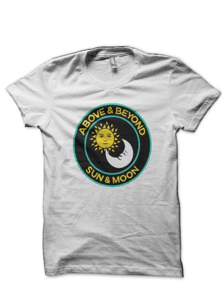 Above And Beyond Sun And Moon White T-Shirt