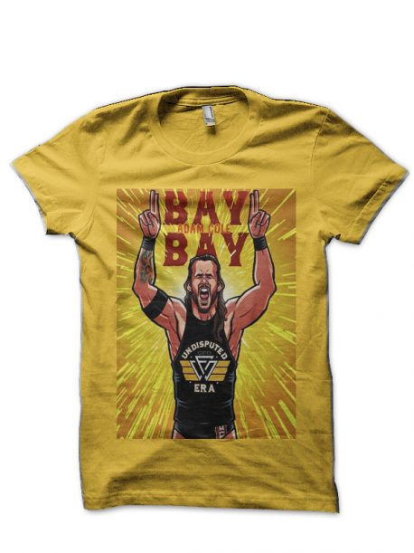 Adam Cole Yellow T-Shirt