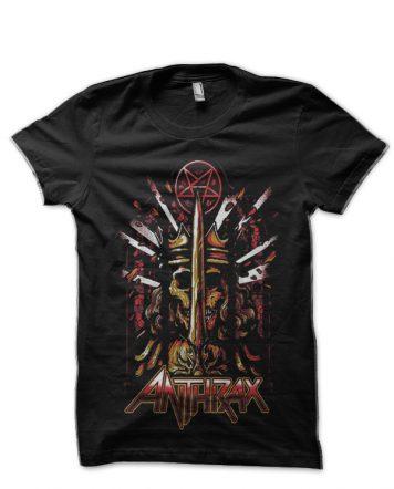 Anthrax Black T-Shirt