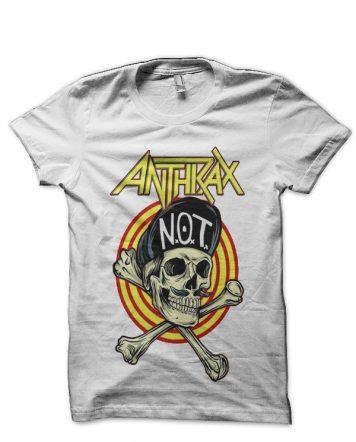 Anthrax White T-Shirt