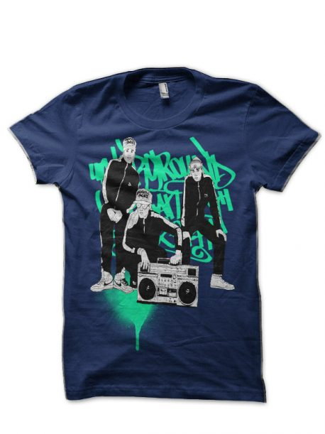 Beastie Boys Navy Blue T-Shirt