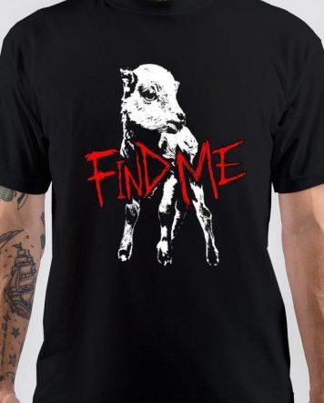 Bray Wyatt Find Me Black T-Shirt