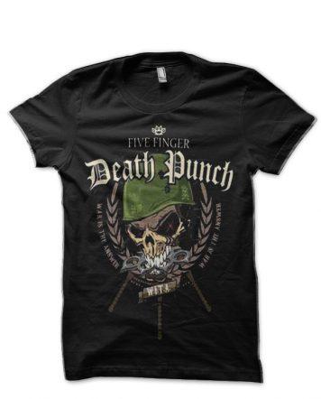 Five Finger Death Punch Black T-Shirt