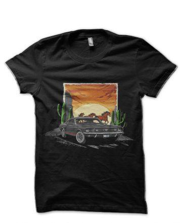 Ford Mustang Black T-Shirt
