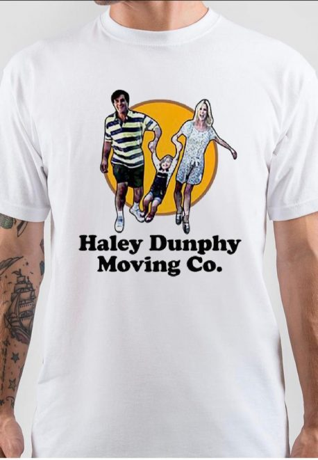 Haley Dunphy Moving Co White T-Shirt