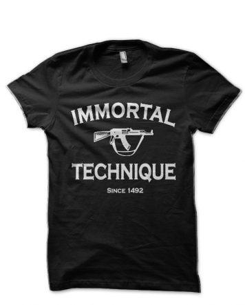 Immortal Technique Black T-Shirt