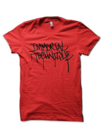 Immortal Technique Red T-Shirt