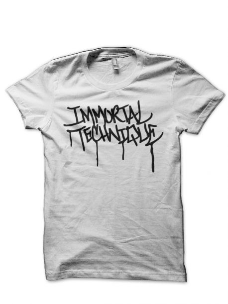 Immortal Technique White T-Shirt