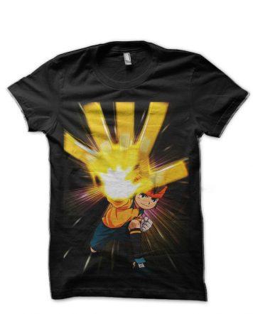 Inazuma Eleven Black T-Shirt