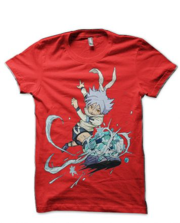 Inazuma Eleven Red T-Shirt