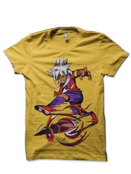 Inazuma Eleven Yellow T-Shirt