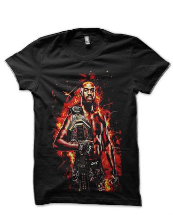 Jon Jones Black T-Shirt