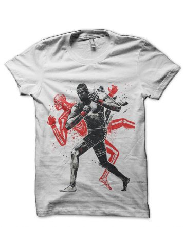 Jon Jones White T-Shirt