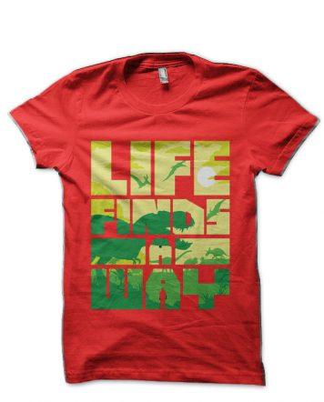 Jurassic Park Red T-Shirt