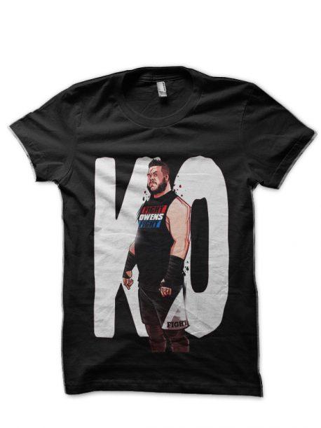 Kevin Owens Black T-Shirt