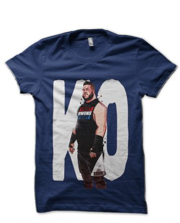 Kevin Owens Navy Blue T-Shirt