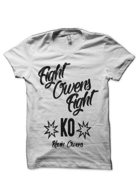 Kevin Owens White T-Shirt