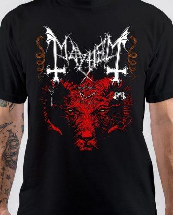 Mayhem Band Black T-Shirt