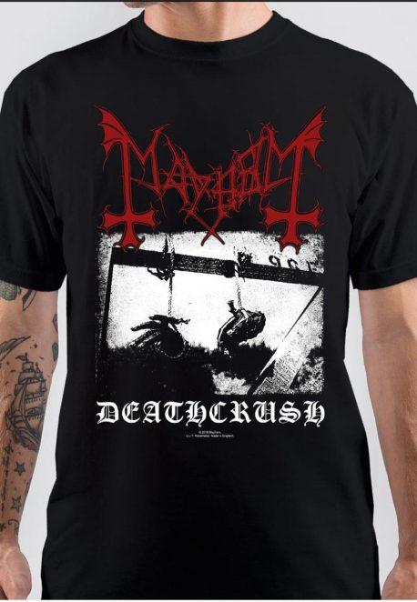 Mayhem Deathcrush Black T-Shirt