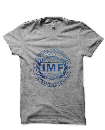 Mission Impossible Grey T-Shirt