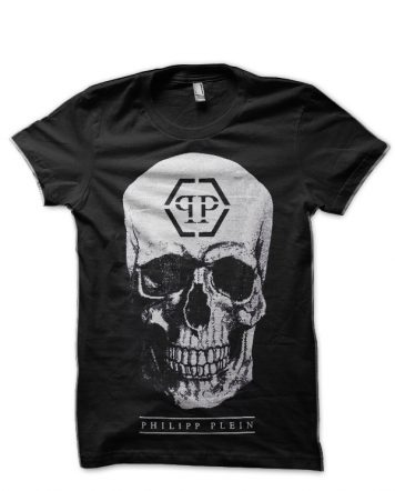 Philipp Plein Skull Black T-Shirt