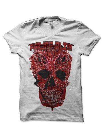 Philipp Plein Skull White T-Shirt
