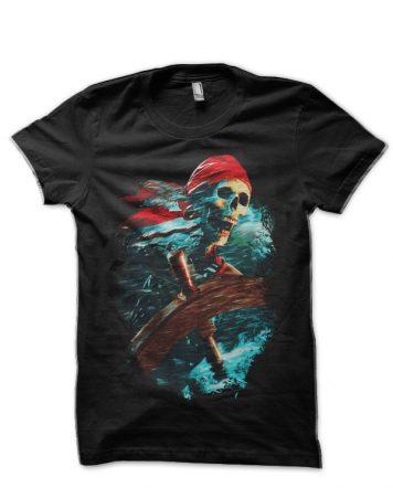 Pirates Of The Caribbean Black T-Shirt