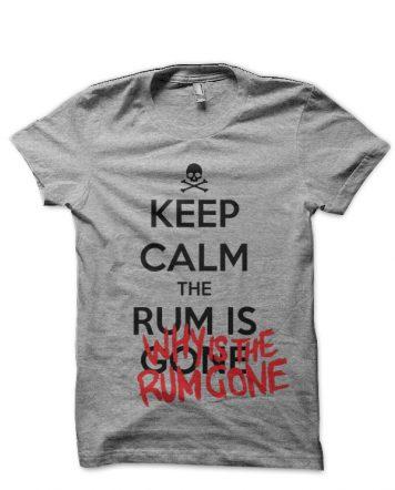 Pirates Of The Caribbean Grey T-Shirt