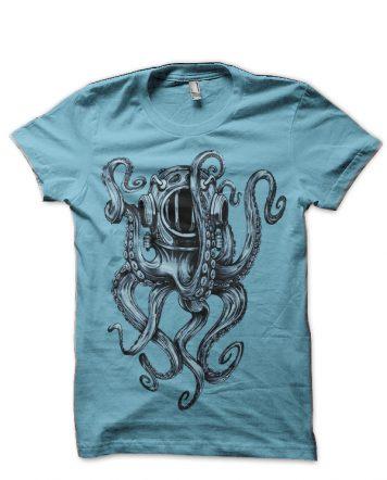 Pirates Of The Caribbean Light Blue T-Shirt