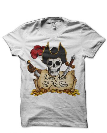 Pirates Of The Caribbean White T-Shirt