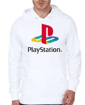 PlayStation White Hoodie