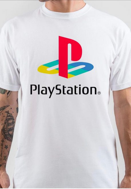 PlayStation White T-Shirt