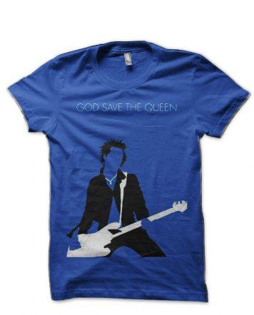 Sex Pistols Royal Blue T-Shirt
