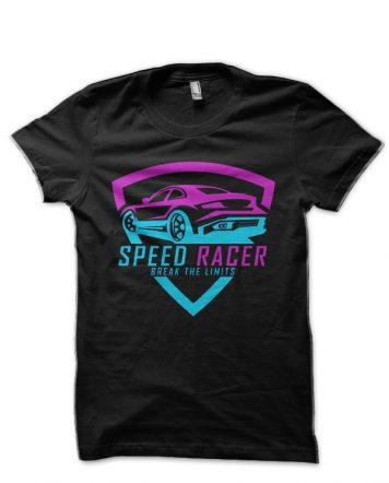 Speed Racer Black T-Shirt